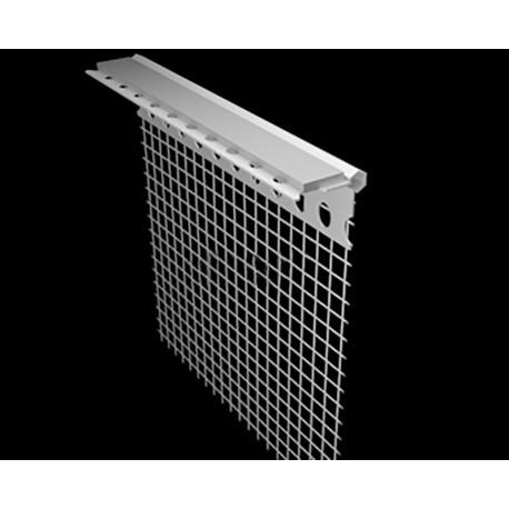 Profil podparapetowy z siatką i taśmą dylatacyjną