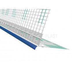 Profil PVC okapowy z siatką i foliową osłoną - 3m