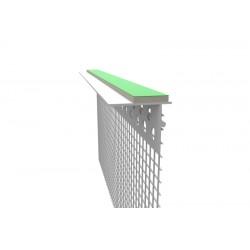 Profil podparapetowy z siatką i taśmą dylatacyjną - 2m