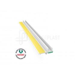 Profil przyokienny biały 6 mm z uszczelką - 2,5m