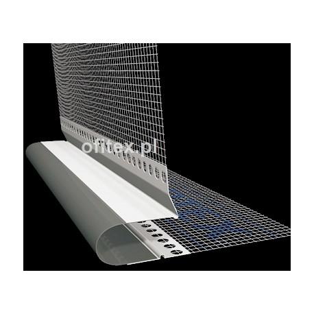 Profil dylatacyjny do elewacji z siatką - kątowy - 2m