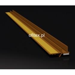 Profil PCV przyokienny brąz 3 mm - 2,5m
